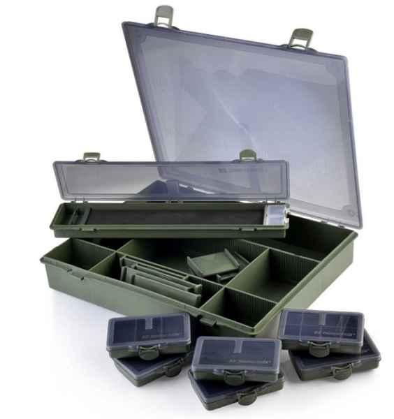 Veľký kaprársky T box + 7 krabičiek 36,5 x 30 x 6cm