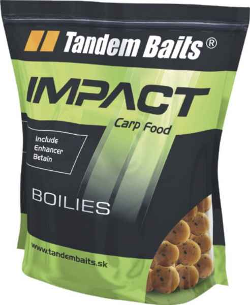 TANDEM BAITS chrumkajúce (chrunch) Impact Boilies 20/5k