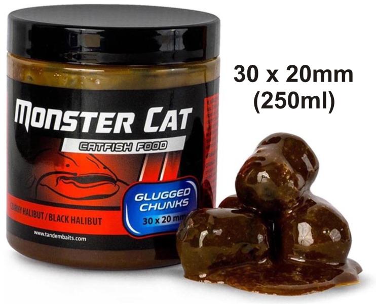 Monster Cat dipované pelety 30x20mm/300g Tandem Baits Fish Crayfish (ryba rak)