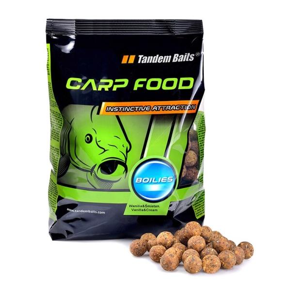 Tandem Baits - Carp Food Boilies 16mm/1kg Homár Rak