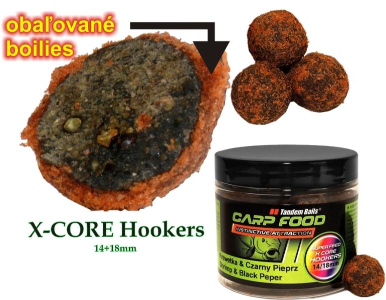 Super Feed X Core hookers MIX 14/18mm, 200ml Fat Salmon Caviar