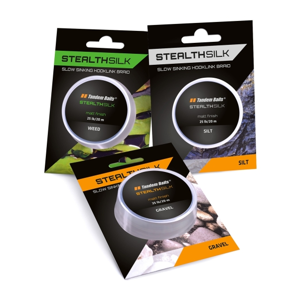 Šnúra Stealth Silk 25 lb / 20 m f. gravel