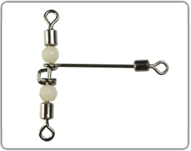 Rolling swivel Cross - line T-shape