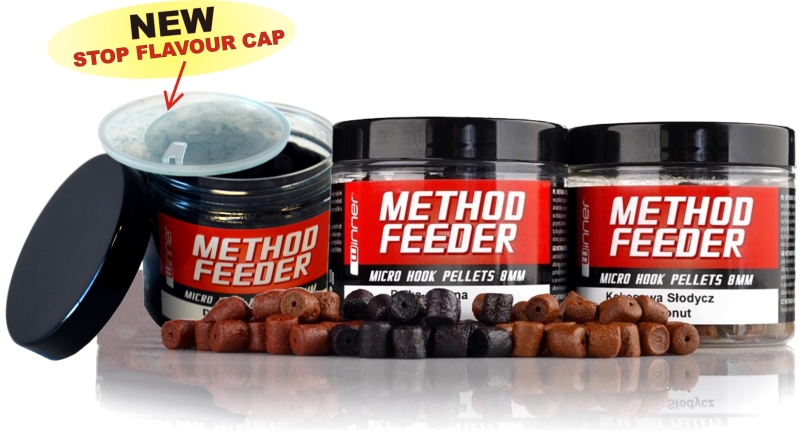 Method / Feeder - Micro Hook Pellets - 8mm / 120g Garlic Candy