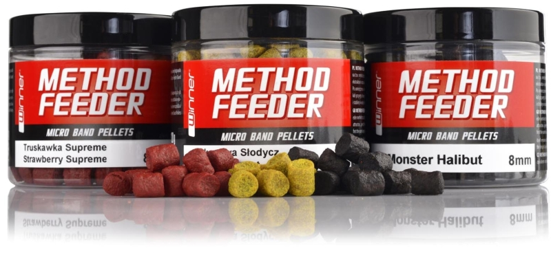 Method / Feeder - Micro Band Pellets - 8mm/120g Mulberry Plus