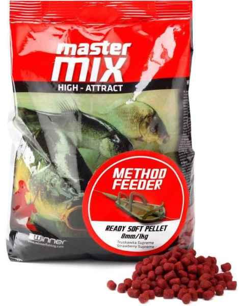Method Feeder Ready Soft Pellet 8mm/1kg mäkké pelety Squid&Orange/Kalmar a pomaranč