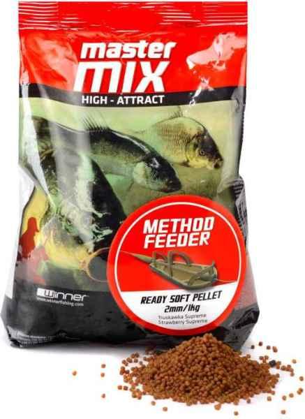 Method Feeder Ready Soft Pellet 2mm/1kg mäkké pelety Squid&Orange/Kalmar a pomaranč