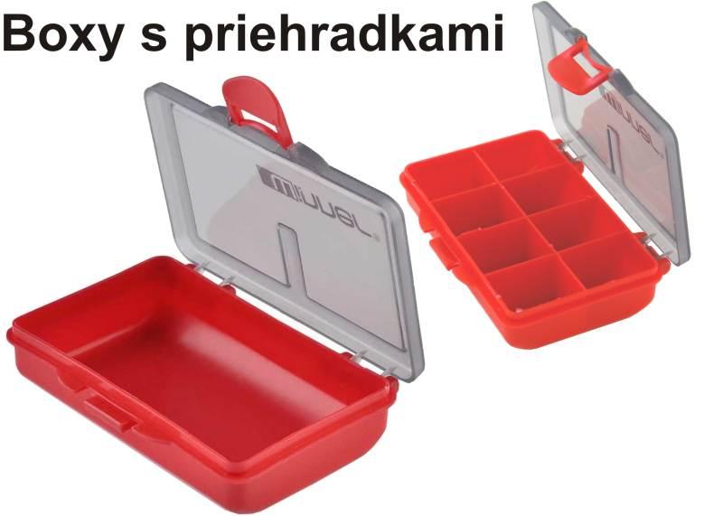 Method Bait -Uzatvarateľný box na drobné príslušenstvo Box 8 priehradok 10,5 cm / 7 cm / 2,5 cm