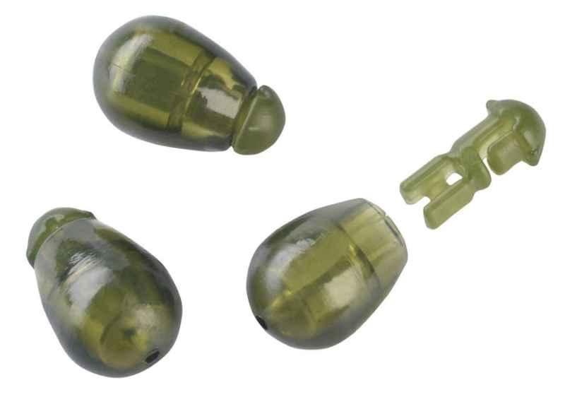 Konektor Method Feeder Quick beads 10ks -zelený Veľkosť: L