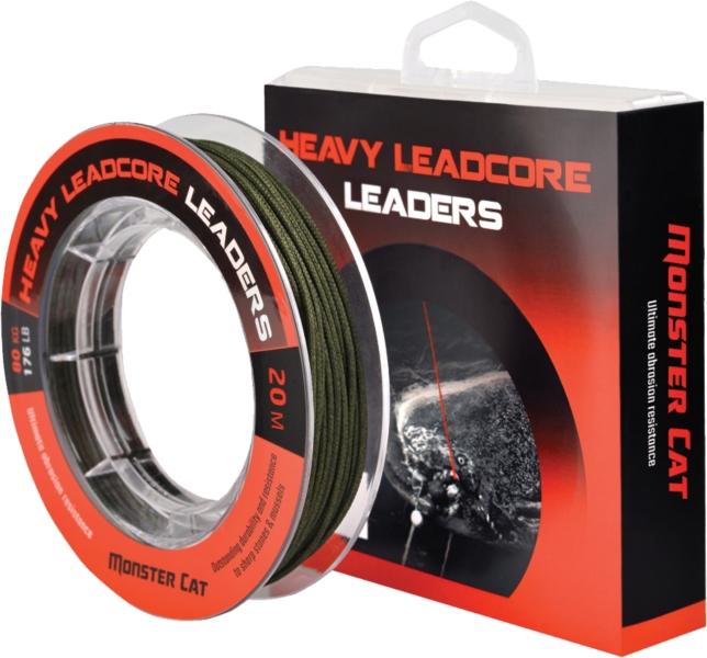 Heavy Leaders - sumcová nadväzcová šnúra 20m / 80 kg