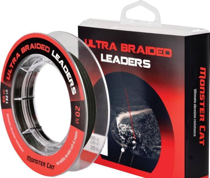 Ultra Leaders sumcová nadväzcová šnúra 20 m záťaž 100kg