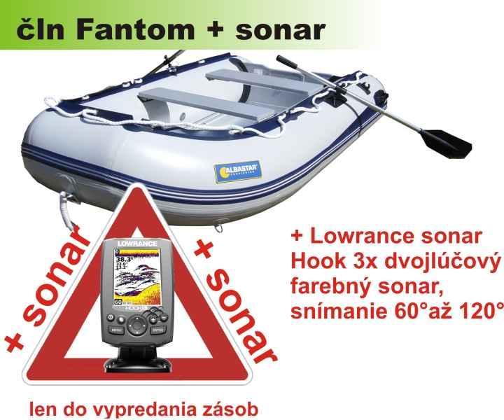 akcia FANTOM 470 šedý + sonar Elite 3X