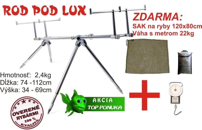 Rotpod Lux + precho. sak 120x85cm + váha s metrom 22kg