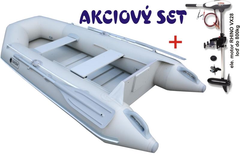 akcia Shelf 270 šedý +Rhino VX 28