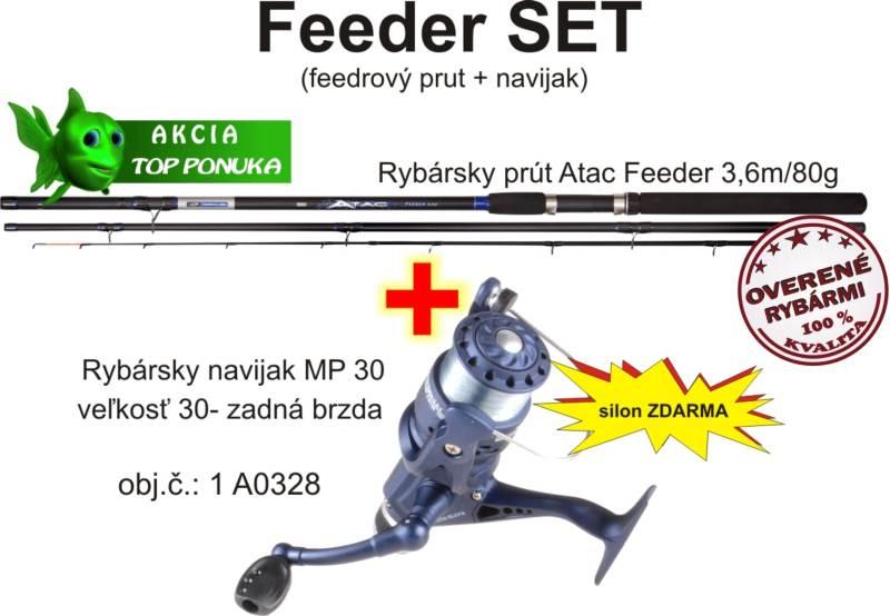 Akcia feeder 3,6m/80g + feeder navijak zadná brz. +silo