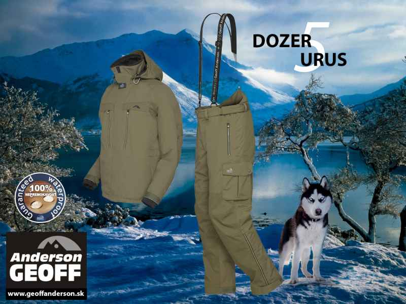 AKCIA Geoff Anderson - DOZER 5 +URUS 5 - zelená