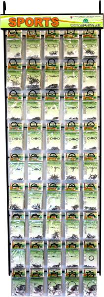 SPORTS set 450 karabínky a obratlíky