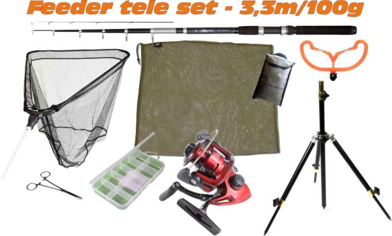 Feeder set SPORTS SCOUT8 - 3,3m/100g