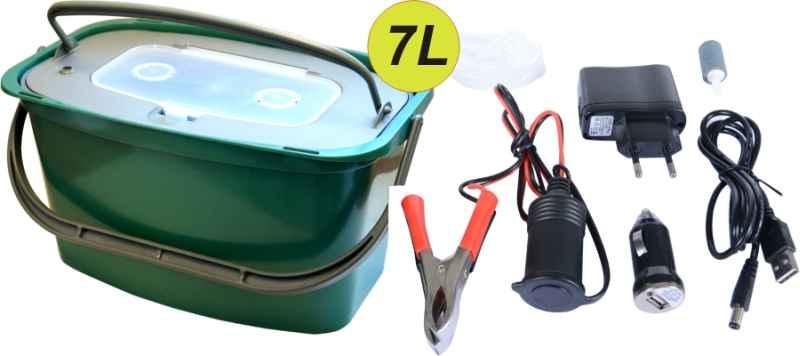 Okysličovač AA Batterie, USB, 230V + Vedro 7L