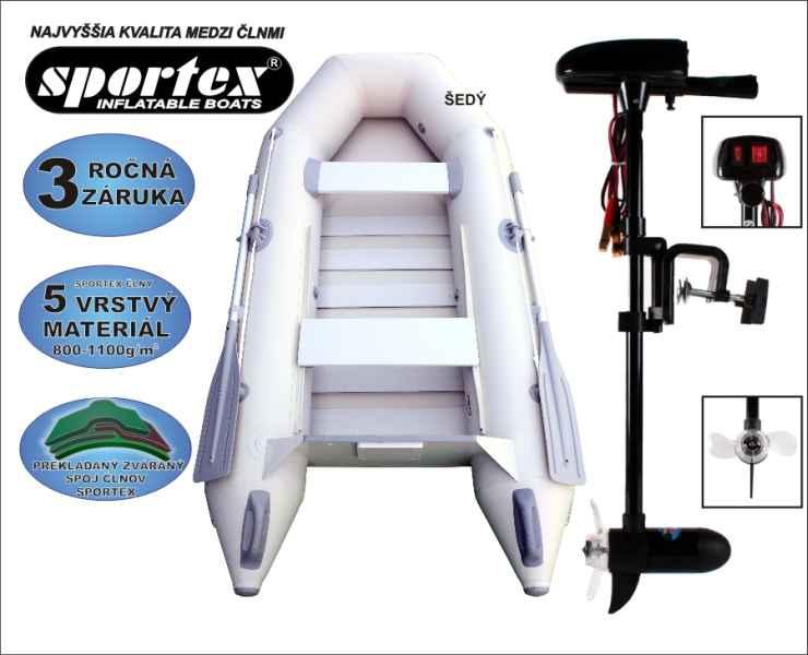 SPORTEX akcia čln Shelf 270 + Engine 18lbs