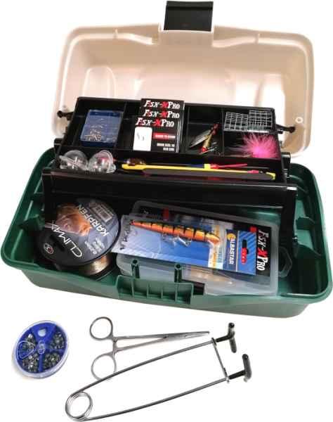 Rybársky kufrík + MAXI II výbava pre každého