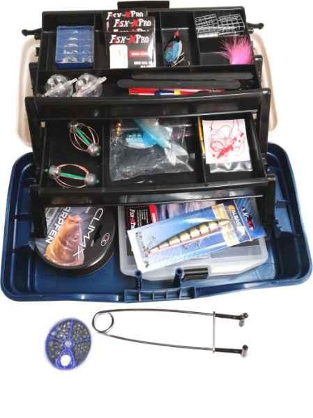 Rybársky kufrík + MAXI výbava III