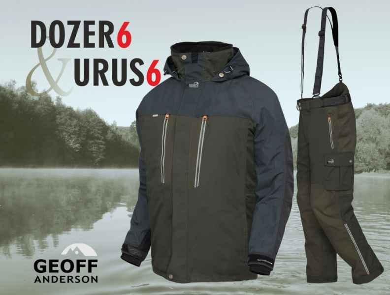 AKCIA Geoff Anderson - DOZER 6 + URUS 6 zelená Veľkosť XL