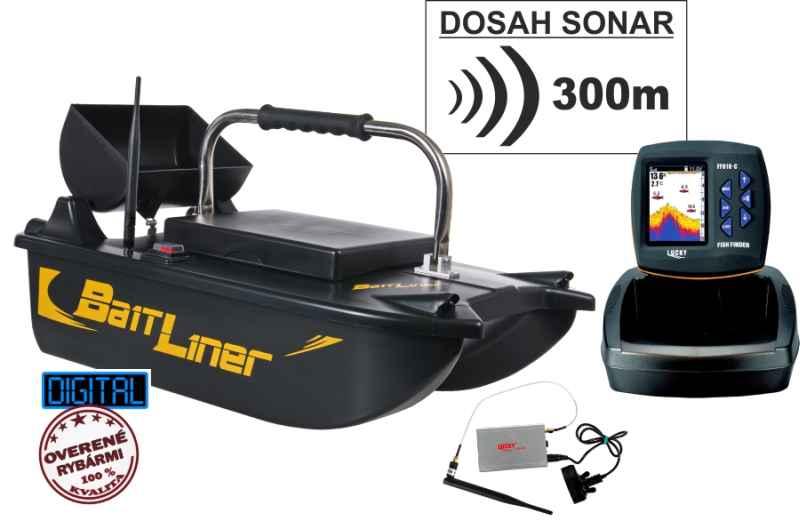 Akciový set-zavážacia loďka a bezdrôtový sonar do 300m