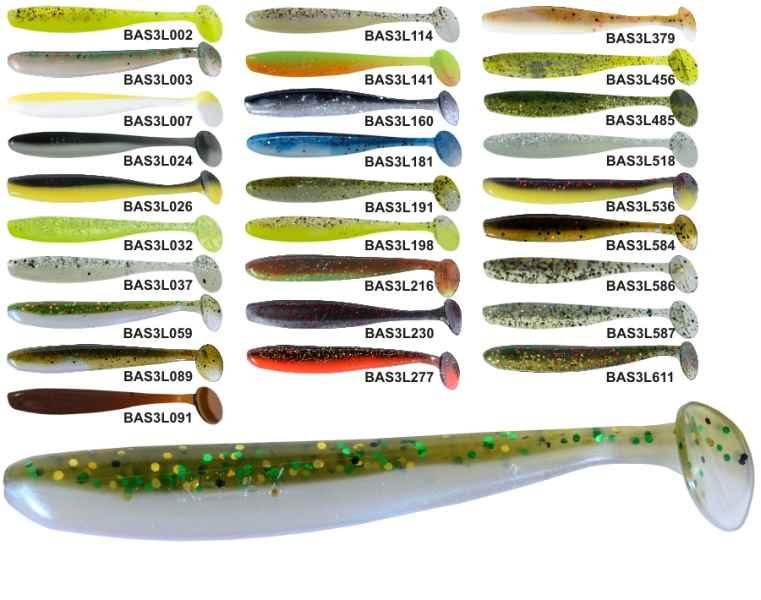 RELAX BASS 9,5cm - nástraha - cena za 1ks - 10ks