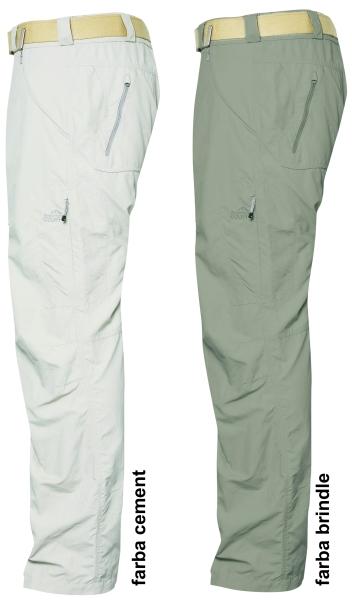 SUKUVU extra ľahké nohavice GEOFF Anderson cement veľkosť XS