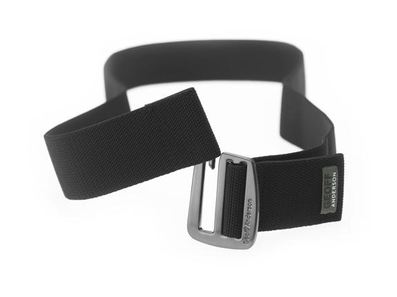 opasok/belt elastický (metal+black)