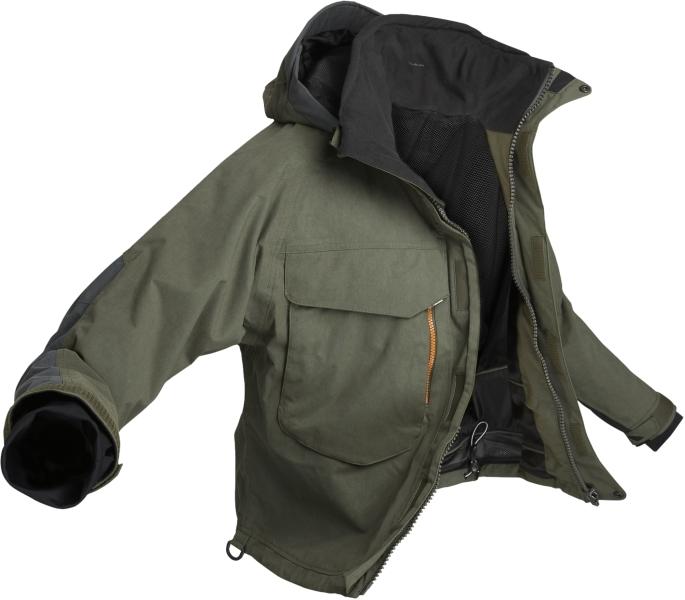 de5195dad0ab Geoff Anderson - bunda do pása WS 4 ( zeleno - čierna )