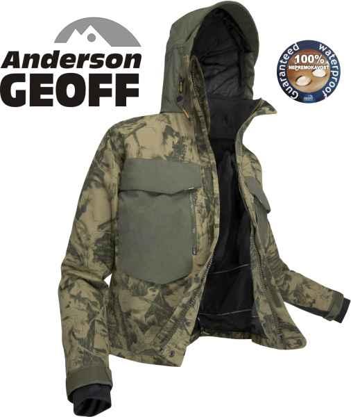 Geoff Anderson - bunda do pása WS 4 ( Leaf - CAMOU )  7c0752ea667