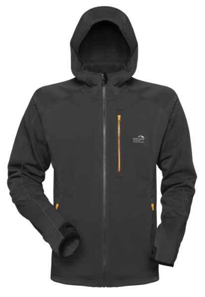 Celoročná flísová bunda HOODY3 Geoff Anderson - čierna Veľkosť XXXL