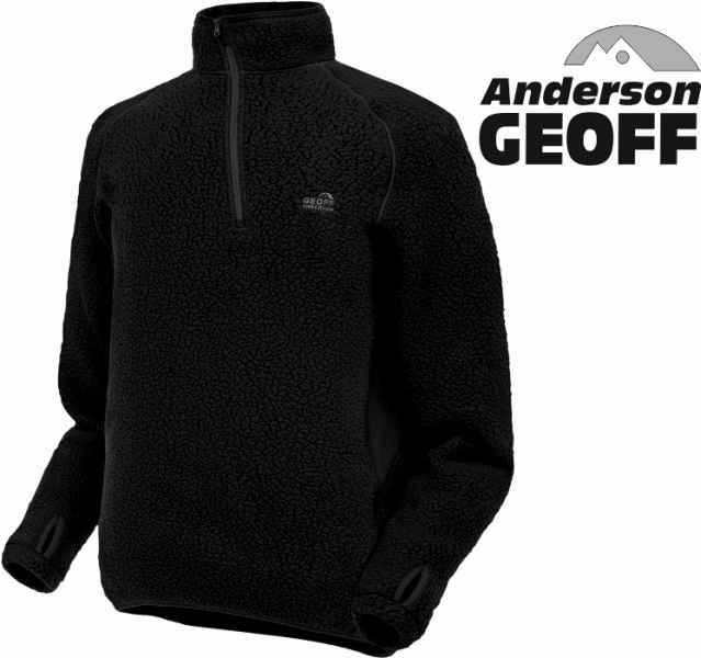 Thermal 3 pulóver Geoff Anderson - čierny Veľkosť M