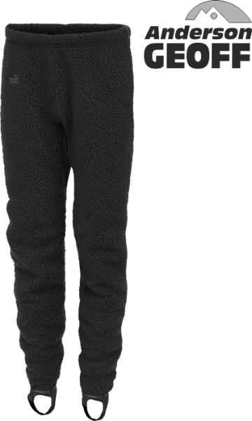 Thermal 3 nohavice Geoff Anderson - čierne Veľkosť L