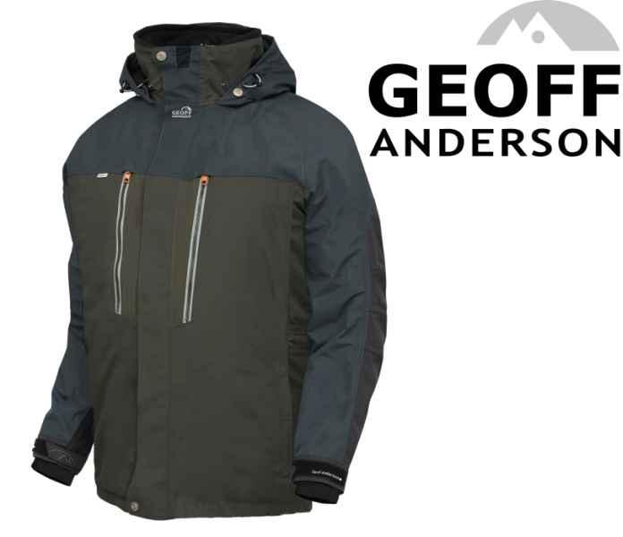 Bunda Geoff Anderson Dozer 6 zelená Veľkosť XL