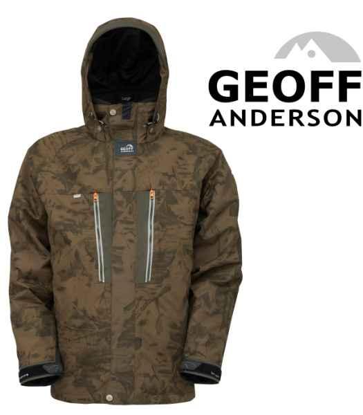 Bunda Geoff Anderson Dozer 6 maskáč Veľkosť XXXXL