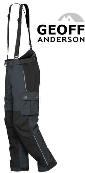Nohavice Geoff Anderson Urus 6 čierne Veľkosť XXXL