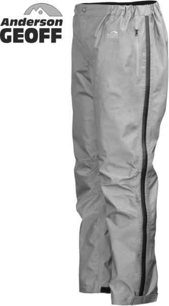 Nohavice Geoff Anderson Xera 4 - šedé Veľkosť XXXL