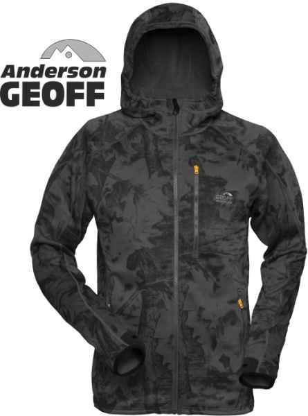 Celoročná flísová bunda HOODY3 Geoff Anderson-Blackleaf Veľkosť XXXL
