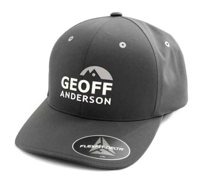 Šiltovka Geoff Anderson FlexFit Delta šedá