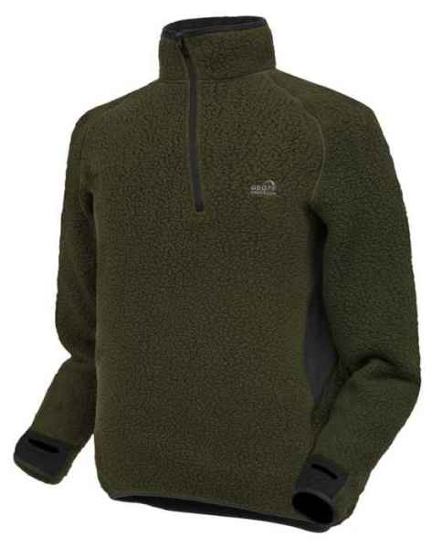 Thermal 3 pulóver Geoff Anderson - zelený Veľkosť: Jumbo X