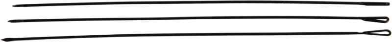 Rybárske ihly prešívacie HEAVY, čierne, 20cm, 3ks