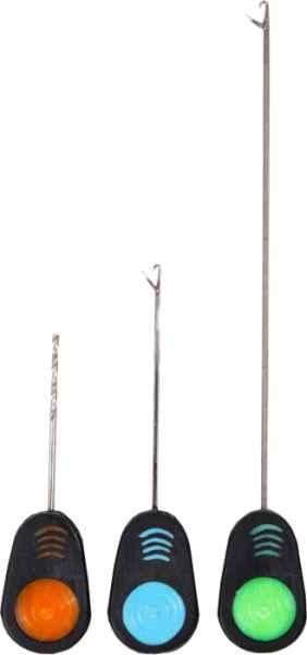 ERGON SET 3v1, Rybárske ihly 7cm,13cm + vrták