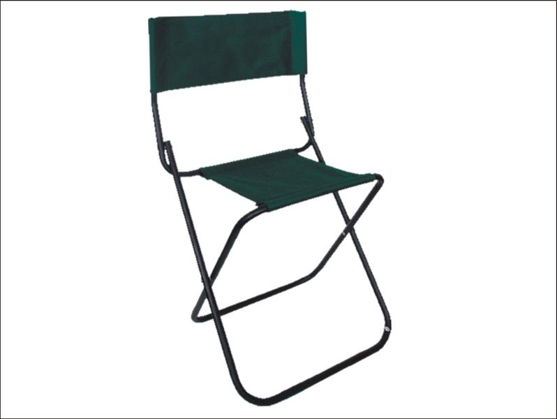 Rybárska stolička SPORTS s opierkou - 40cm