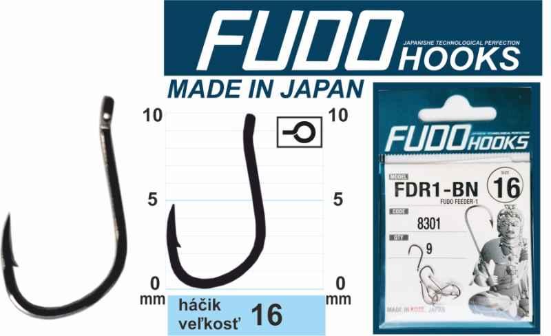 Feeder háčiky FUDO veľkosť 16 / 9ks