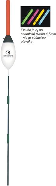Rybársky balzový plavák (pevný) EXPERT 5,0g/23cm
