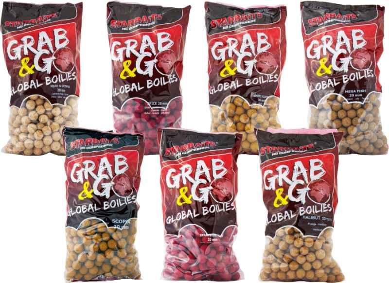Starbaits Global Boilies 20mm / 2,5kg Sweet Corn