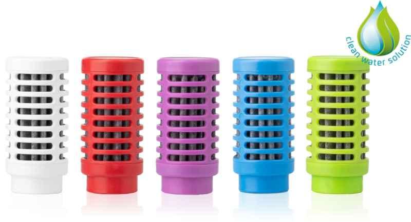 Náhradný filter pre filtračnú fľašu Quell NOMAD 1ks Farba: Biela